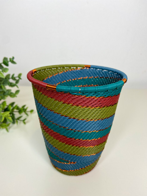 Telephone Wire Cup- Turaco