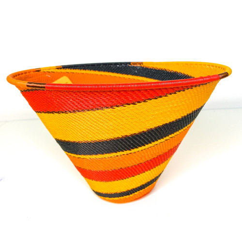 Telephone wire Large Deep Cone - African Fire