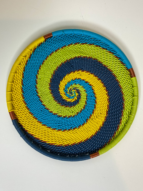 Telephone Wire Coaster - Bohemian Blue