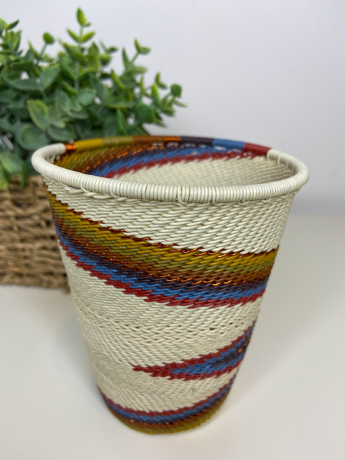 Telephone Wire Cup - Mountain Rainbow