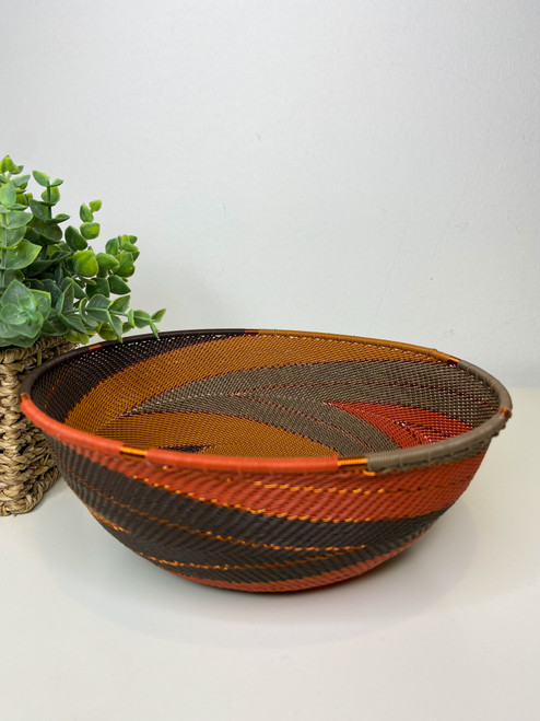Large Shallow Bowl - African Clay