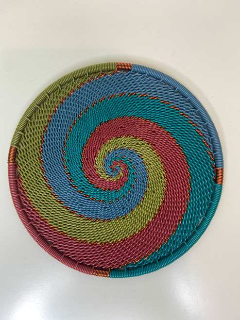Telephone Wire Coaster - Turaco