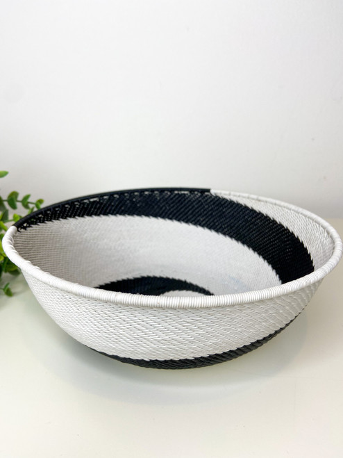 Large Shallow Bowl - African Eclipse