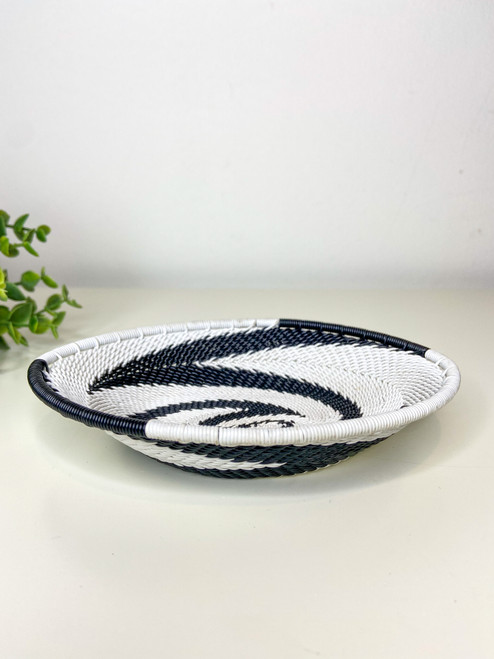Telephone Wire Trinket Dish - African Eclipse