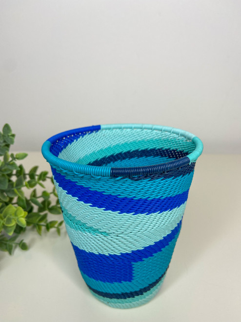 Telephone Wire Cup- African Ocean