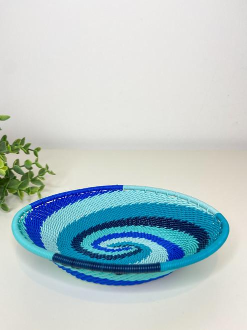 Telephone Wire Trinket Dish - African Ocean