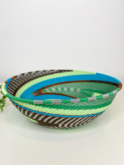 Telephone Wire  Medium Bowl - African Fern
