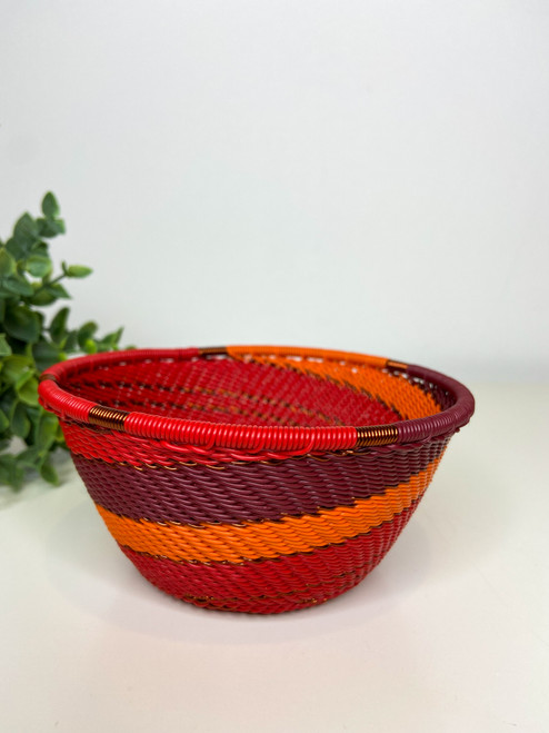 Telephone Small Deep Bowl - African Ember