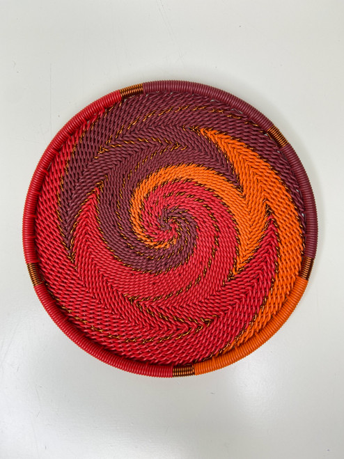 Telephone Wire Coaster - African Ember
