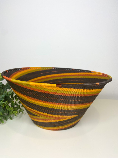 Telephone wire Large Half Cone - African Earth