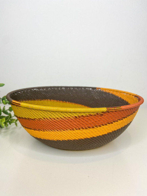 Large Shallow Bowl - African Earth