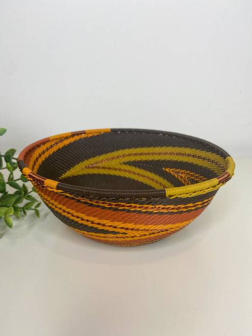 Telephone Wire  Medium Bowl - African Earth