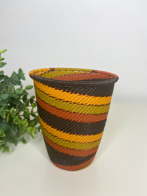 Telephone Wire Cup- African Earth