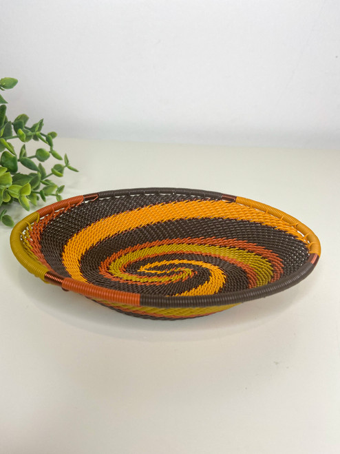 Telephone Wire Trinket Dish - African Cup