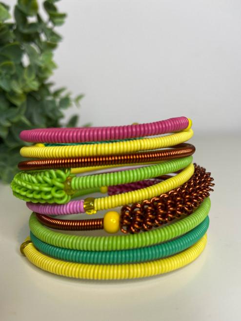 Telephone Wire blended Bracelet   - Pincushion