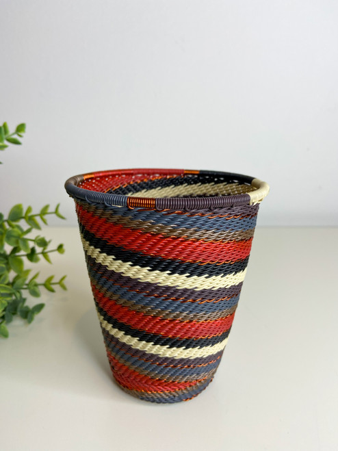 Telephone Wire Cup- Red Pepper