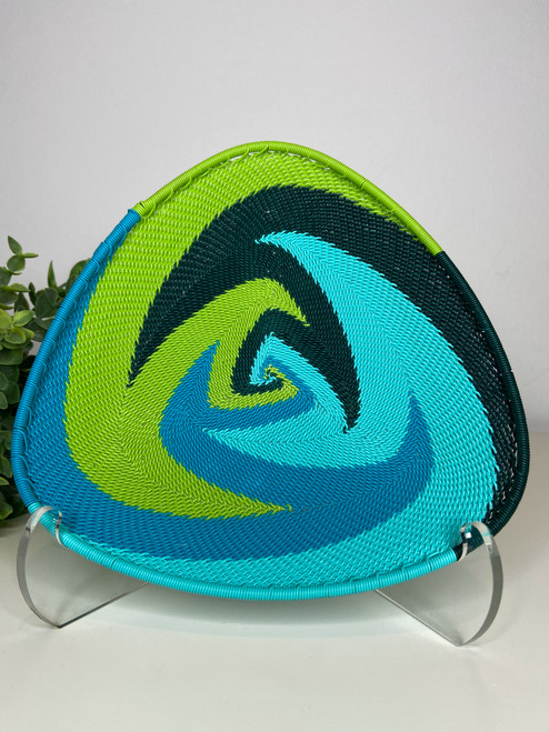 Telephone wire Triangle Plate -  African Spring