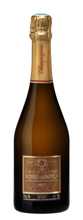 image of Mathieu-Gosztyla Brut Millésime wine bottle