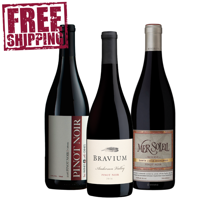 image of mothers day pinot wine package