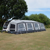 Kampa Grande Air All Season 390  with both optional extensions fitted