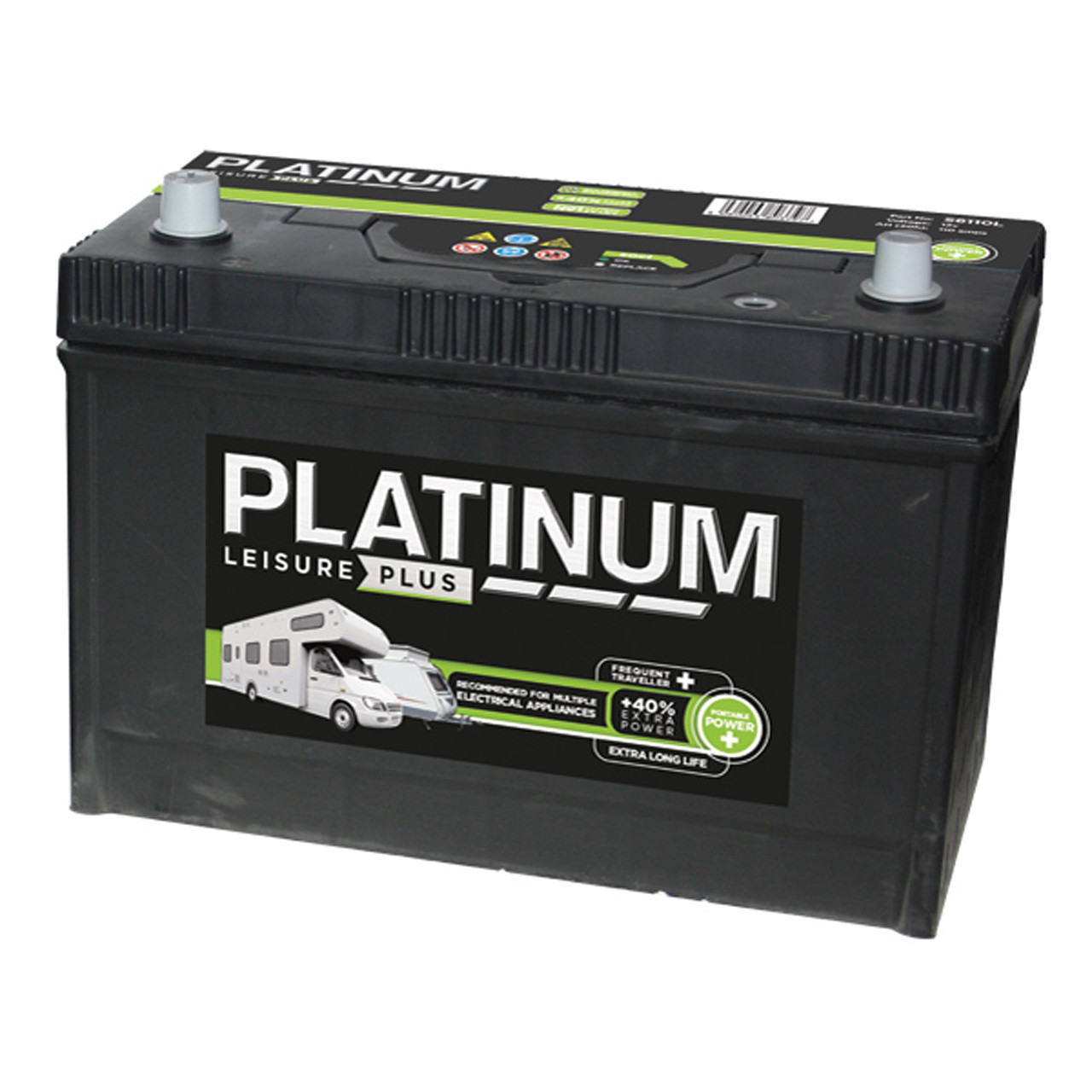 Platinum Leisure Battery 110Amp