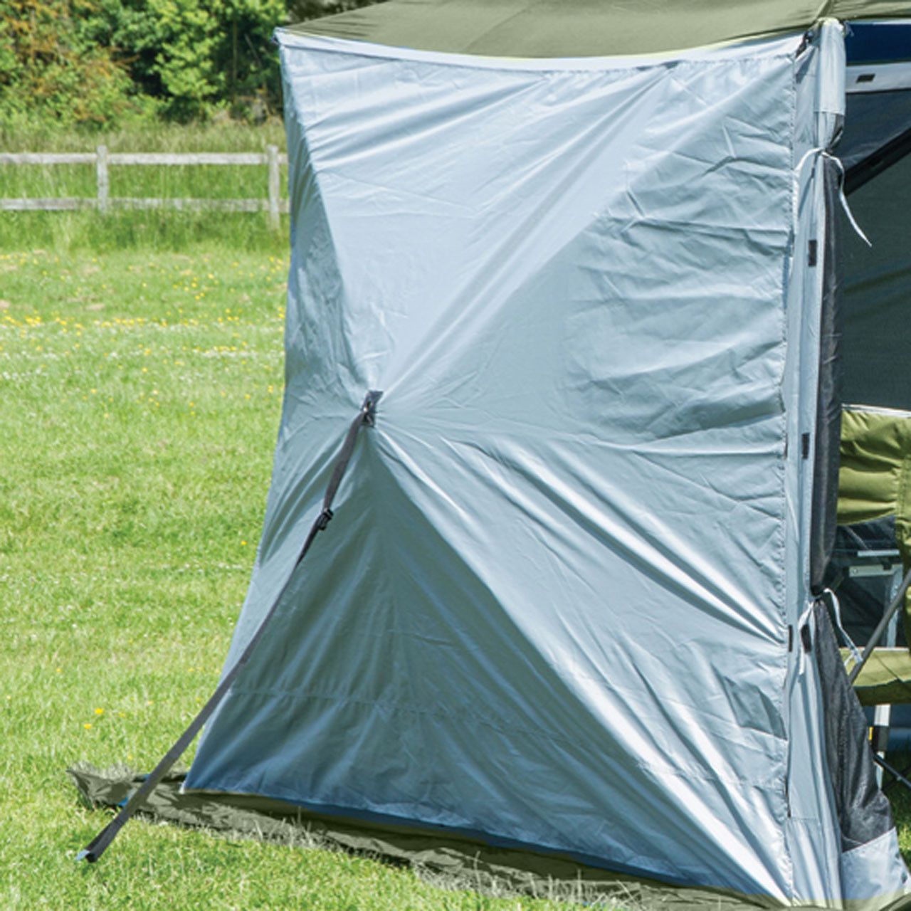 Quest Screen House 4+4 Side Walls Grey