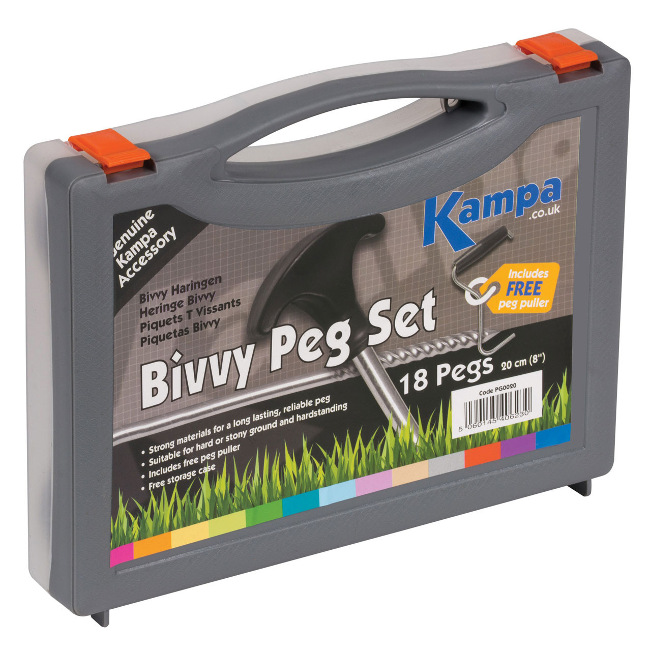Kampa Bivvy Peg Pack