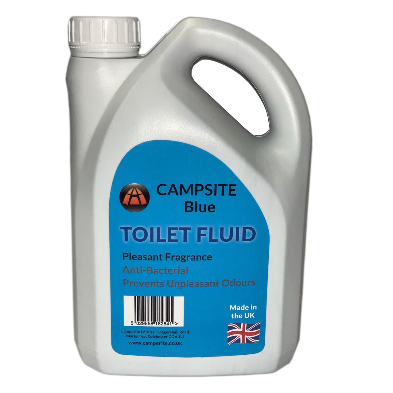 Campsite Blue Toilet Fluid 4 litre