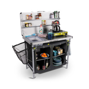 Kampa Chieftain Camp Kitchen - Accessories not included