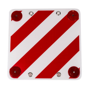 Warning Signal - Plastic with Reflectors