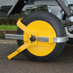 "Trailer Wheel Clamp 8""-10"""