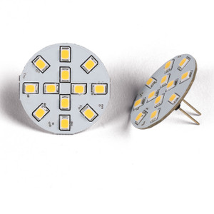 12 LED - Rear Pin Fitment G4 SMD