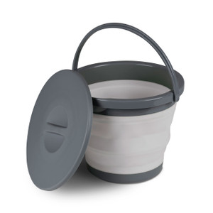 Kampa 5L Collapsible Bucket With Lid