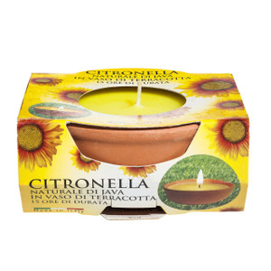 Prices Small Terracotta Candle