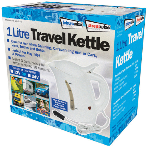 Streetwise 1lt Travel Kettle