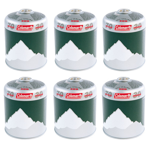 Coleman 500 Cartridge - 6 pack
