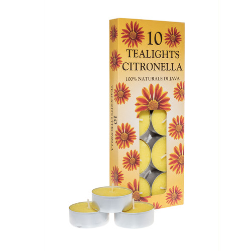 Prices 10x Citronella Tealights