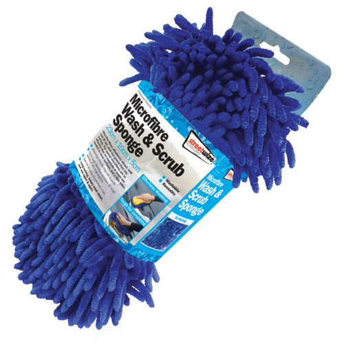 Microfibre Wash & Scrub Sponge