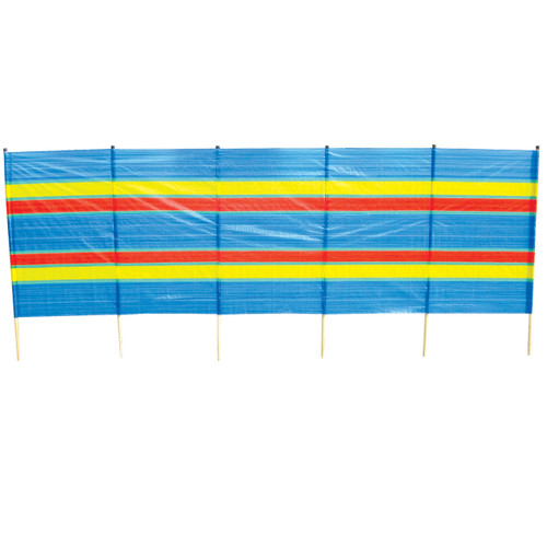 6 Pole Tall Beach Windbreak