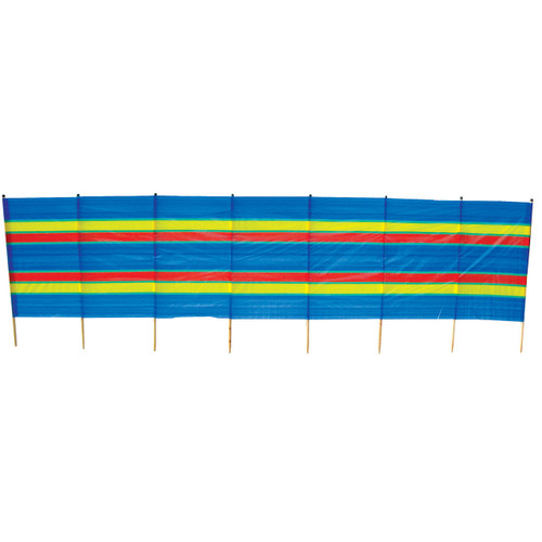 8 Pole Tall Beach Windbreak