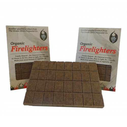 Organic Firelighter 32 piece Box
