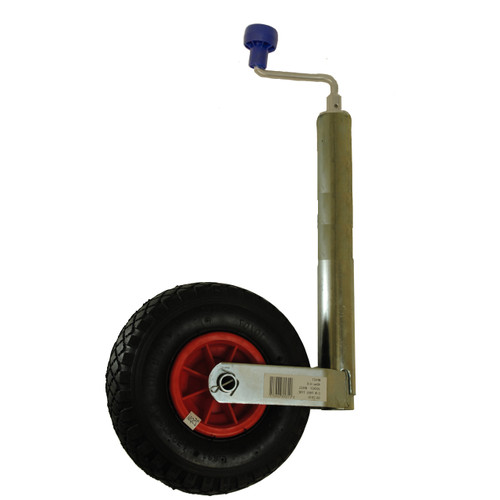 Maypole 48mm Pneumatic Telescopic Jockey Wheel