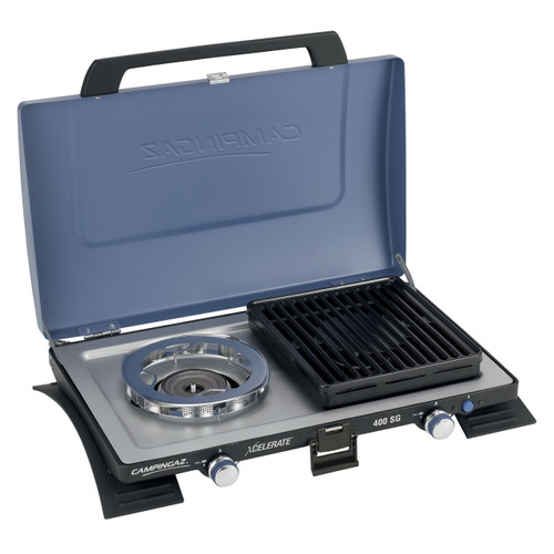 Series 400 SG Double Burner & Grill