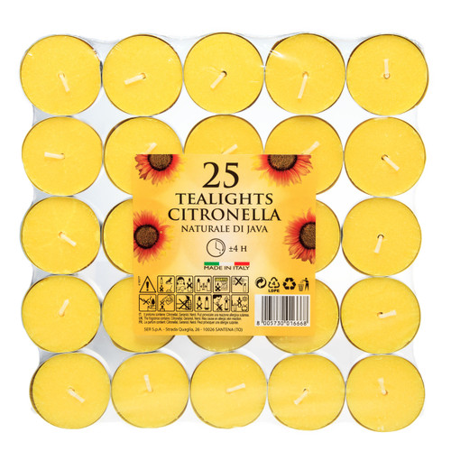 Prices 25x Citronella Tealights