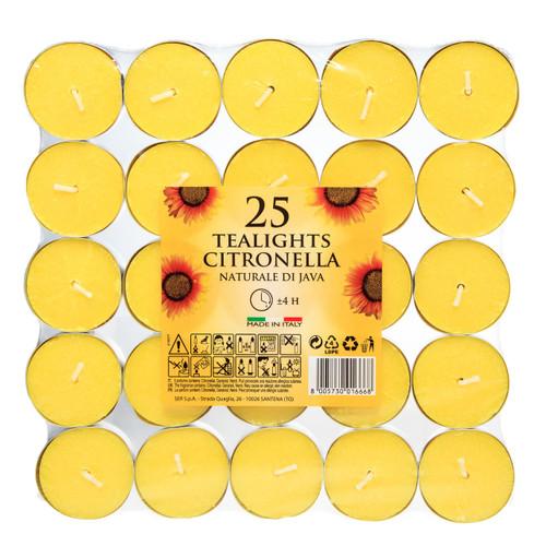 Prices 25x Citronella Tealights