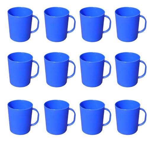 Camping Blue Poly Mug 420ml x 12