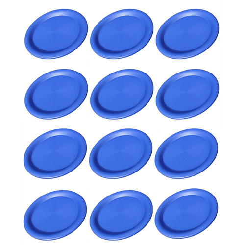 Camping Blue Poly Plates 25cm x 12