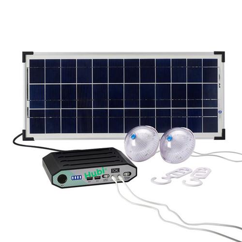 HUBi Go 10k Lighting & Power System