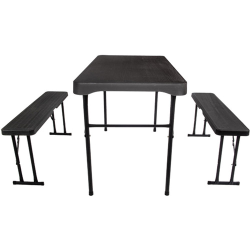 Quest Grassmoor table and bench set