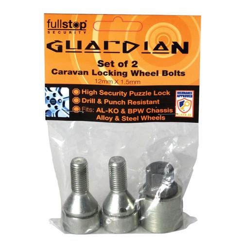 Purpleline Guardian Ultra Locking Wheel Bolts
